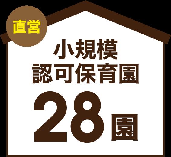 直営 小規模認可保育園 28園